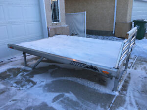 STF Aluminum 8foot sled deck with telescoping sides.