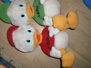DUCK TALES stuffed Huey, Duey and Louie Ducks Cambridge Kitchener Area image 2