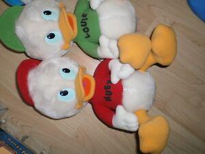 DUCK TALES stuffed Huey, Duey and Louie Ducks Cambridge Kitchener Area image 2