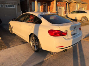 2016 BMW 428i Gran Coupe xDrive Lease Takeover - White on Red