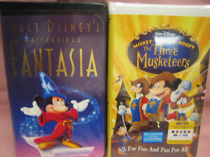 VHS-The Three Musketeers (Mickey, Donald & Goofy)