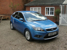 2008 FORD FOCUS TDCI (110ps) TITANIUM - FULL SERVICE HISTORY - IN VGC - £30 TAX