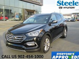 2018 HYUNDAI SANTA FE Limited Leather Sunroof Navigation Cooled