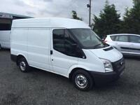 Ford Transit 2.2TDCi ( 100PS ) FWD ( EU5 ) Med Roof T260 SWB hi top 2013 13 Reg