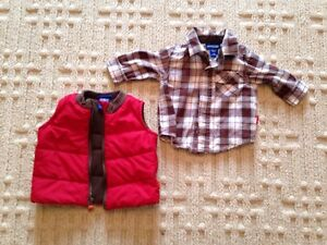 Adorable 3 month boys best and shirt-new!