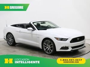 2015 Ford Mustang GT PREMIUM CONVERTIBLE CUIR BLUETOOTH CAMERA R