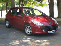Peugeot 307 1.4 16v S**SUPER LOW MILEAGE AT JUST 34,000 MILES**PSH**NEW MOT**
