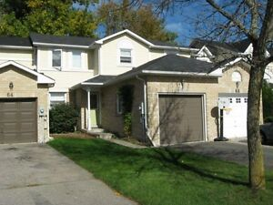 Lovely Townhouse on quiet crescent for rent for Dec. 1st Cambridge Kitchener Area image 1