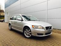 2009 59 Volvo V50 1.6D DRIVe SE Lux Estate + Leather + SAT NAV +