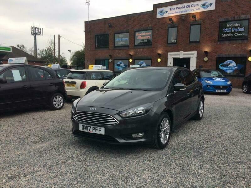 2017 FORD FOCUS 1 0 T EcoBoost Zetec Edition Hatchback 5dr Petrol s s 125  ps | in Rugby, Warwickshire | Gumtree