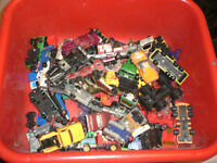Selection of used toy cars