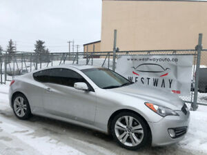 2011 HYUNDAI GENESIS COUPE 3.8 L ONLY 96130 KMS LEATHER LOADED