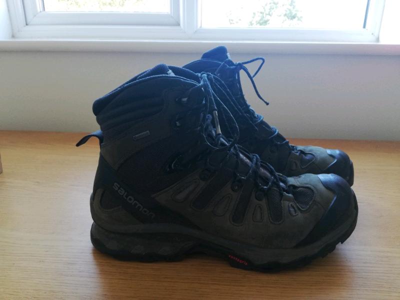 Salomon quest 4d 3 gtx walking hiking boots size 11   in Portishead, Bristol   Gumtree