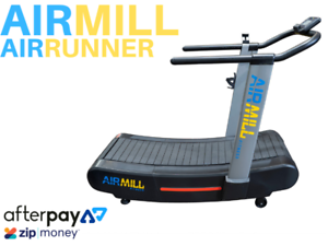 Airmill Air Runner - Self Powered Treadmill