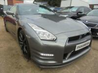 2014 64 NISSAN GT-R 3.8 V6 2DR AUTO 550 BHP FINANCE WITH NO DEPOSIT AND NOTHING