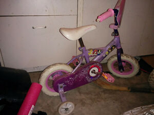 Princess bike for 3-4 yrs old. Shediac area.
