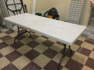 8' FOLDING TABLE Rental Quality