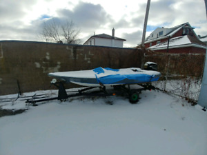 Boat,motor and trailer for sale,selling complete package