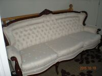 3 Seat couch & matching armchair