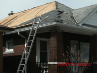 ROOFING SPECIALIST ( SHINGLE & FLATS )WINTER RATES GOING ON NOW
