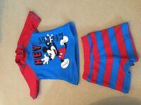 Micky mouse swim set