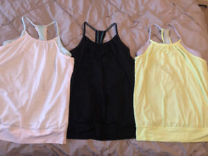 3 Ivivva Tank Tops All Girls Size 14