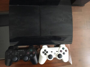 90% new slim console 2 controller with 20 games