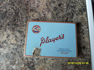 VINTAGE EMPTY TOBACCO TINS, LIGHTERS