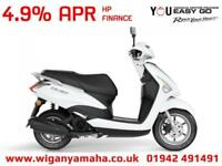 YAMAHA LTS125 DELIGHT 125cc AUTOMATIC RETRO SCOOTER. 4.9% APR 99 DEPOSIT...