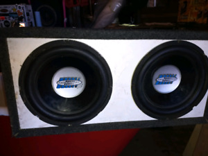 12in subs and amp