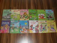 24 livres vintage de la collection Walt Disney – enfants