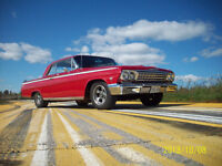 1962 impala 2 dr sports coupe 409 5 speed 4.11