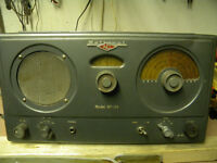 National  model NC-33 communication receiver.