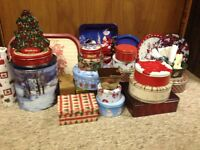Christmas tins & accessories