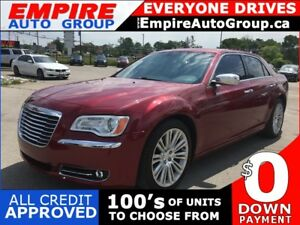 2013 CHRYSLER 300 C * LEATHER * NAV * REAR CAM * PANO ROOF * HEA