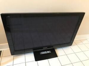 "Panasonic TH-50PZ80U 50"" 1080P Plasma TV"