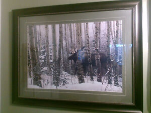 Ron Parker wildlife Eagle or Stephen Lyman A walk in the woods, London Ontario image 2