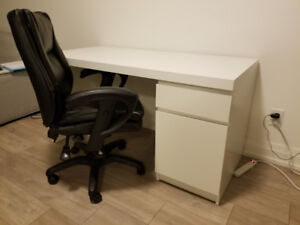 * * * IKEA Desk, Chair and Bar Stool for Sale * * *