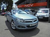 2007 VAUXHALL ASTRA 1.6 16V Sport [115] TIN TOP CONVERTIBLE CABRIOLET