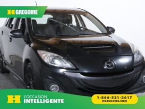 2012 Mazda 3 MAZDASPEED3 TURBO CUIR MAGS BLUETOOTH