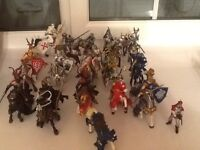 39 assorted Papo figures