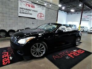 Infiniti G37 Convertible 2dr Decapotable 2009