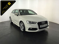 2013 63 AUDI A3 S LINE TDI DIESEL 1 OWNER AUDI SERVICE HISTORY FINANCE PX