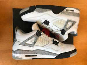 Air Jordan 4 Retro OG - White Cement Size 13