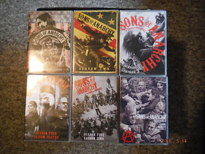 Complete 7 Seasons of Sons Of Anarchy