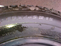 Winter Michelin Ice X and rims from 2015 VW Golf for sale