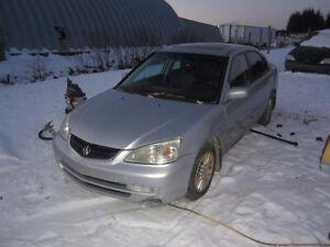 2002 Acura 1.7 EL premium avec mags