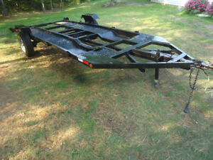 HEAVY DUTY TRAILER WITH 14FT2IN    BY  6FT2IN DECK