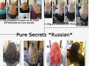 HAIR EXTENSIONS*HALF PRICE OF GL & OURS WILL LAST OVER 1 YEAR Kitchener / Waterloo Kitchener Area image 4