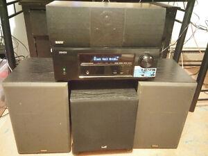 Ampli Denon AVR-1613 yamaha NS-636 B&W DM600ifs sub vector 8